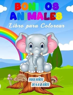 Picture of Bonitos Animales Libro para Colorear para Niños de 4 a 8 Años