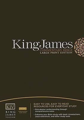 King James Version Commentary Bible Large Print Edition