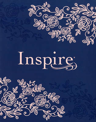 Picture of Inspire Bible NLT (Hardcover Leatherlike, Navy)