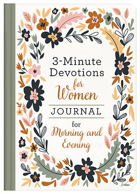 Picture of 3-Minute Devotions for Women Journal for Morning and Evening
