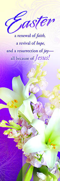 Easter Lily Bookmark (Package of 25)