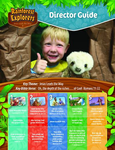 Picture of Vacation Bible School (VBS 2020) Rainforest Explorers Director Guide