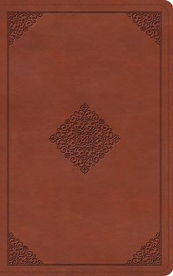 Picture of ESV Thinline Bible (Trutone, Terracotta, Ornament Design)