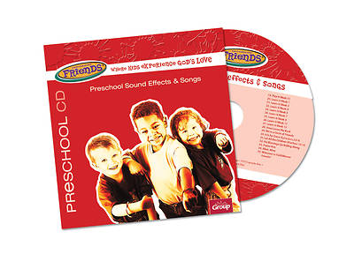 Picture of FaithWeaver Friends Preschool Drama Sound Effects & Songs CD Winter 2018-19