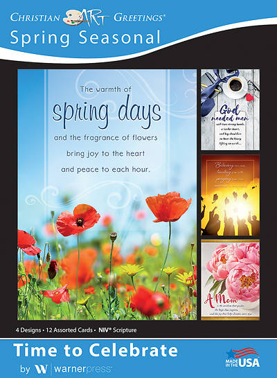 Picture of Time to Celebrate Spring Assorted Boxed Cards (Box of 12)