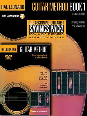 Hal Leonard Guitar Method Beginners Pack with DVD