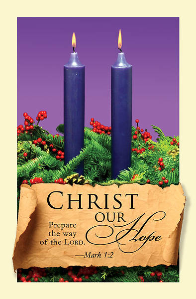 Advent Purple Sunday 2 Bulletin 2011, Regular (Package of 50)