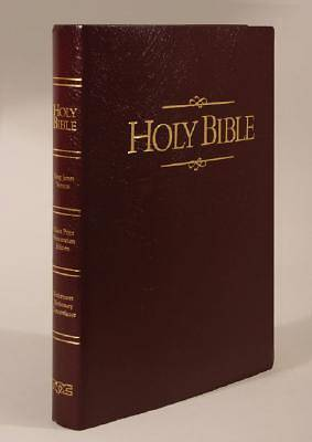 Bible KJV Presentation Edition Large Print