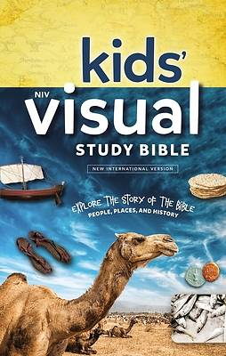NIV Kids Visual Study Bible, Hardcover, Full Color Interior
