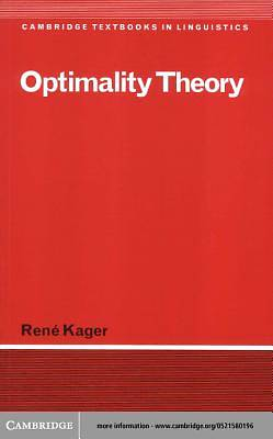 Optimality Theory [Adobe Ebook]