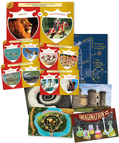 Group VBS 2013 Kingdom Rock Imagination Station Poster Pack (set of 10)