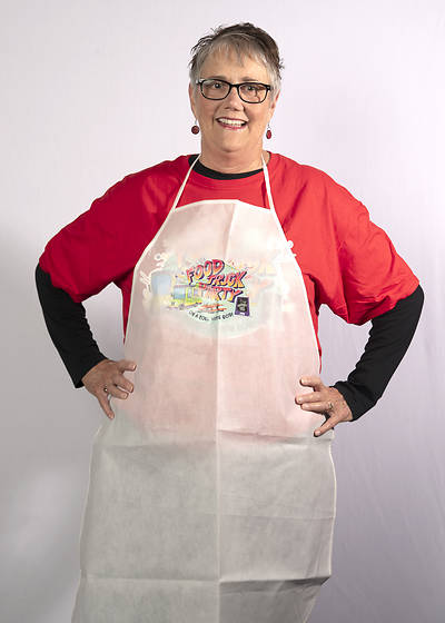 Picture of Vacation Bible School (VBS) Food Truck Party Adult Apron w/Logo