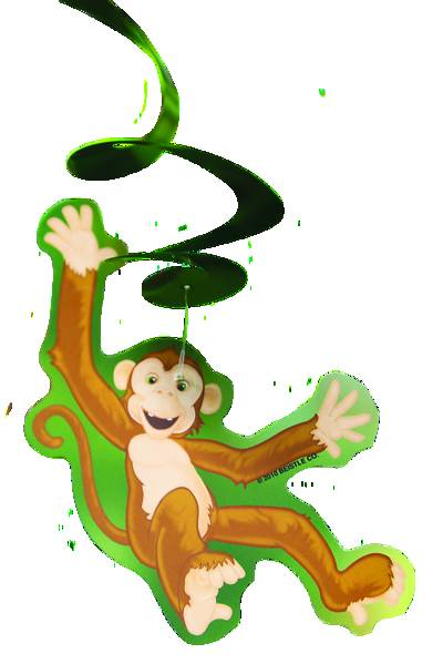 Picture of Vacation Bible School (VBS 2020) Monkey Swirls