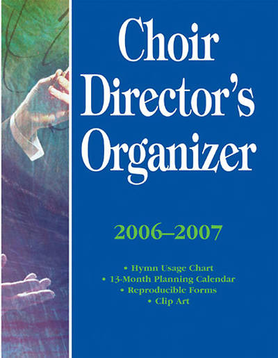 Picture of Choir Directors Organizer, 2006-2007