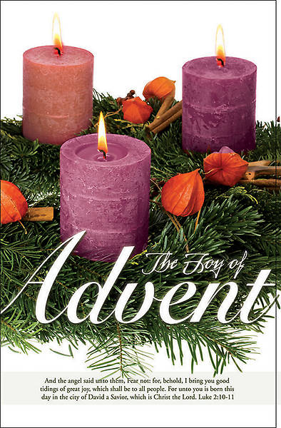 Joy of Advent Bulletin - Advent Series