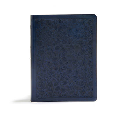 Picture of CSB Life Connections Study Bible, Navy Leathertouch, Indexed