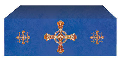 """Picture of Jerusalem Cross Economy Altar Frontal 48""""D x 46""""W"""