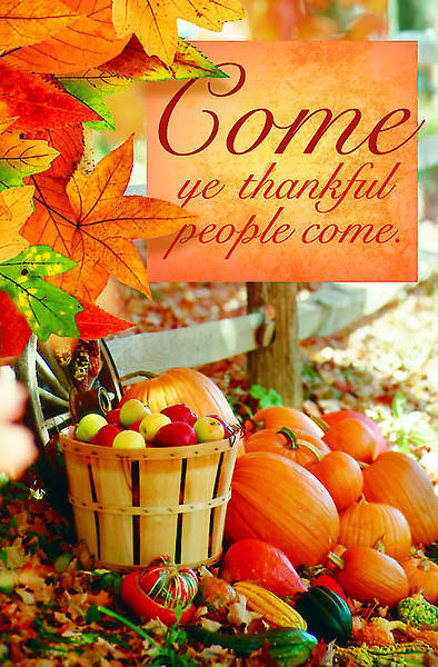 Come Thanksgiving Bulletin 2012, Regular Size (Package of 50)