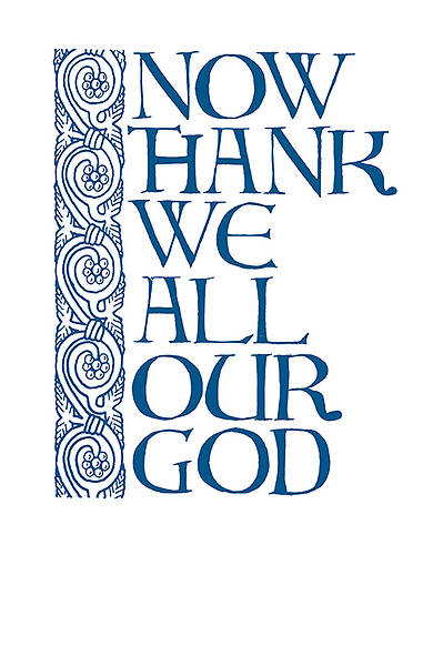 Holy Day Bulletin - Thanksgiving - Year B (package of 50)