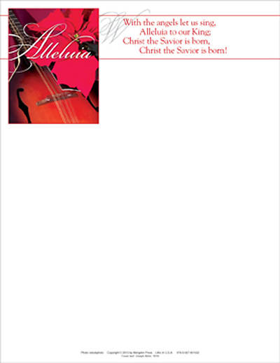 Christmas Music Letterhead 2010 (Package of 50)