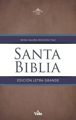 Picture of Rvr60 Santa Biblia Letra Grande, Tapa Dura