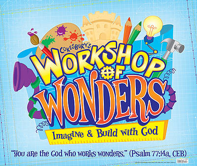 Vacation Bible School (VBS) 2014 Workshop of Wonders Large Logo Poster