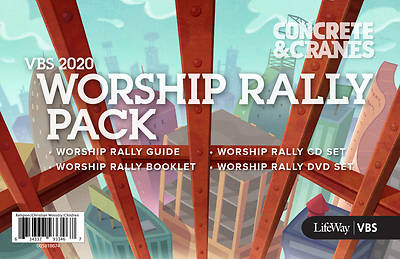 Picture of Vacation Bible School (VBS) 2020 Concrete and Cranes Worship Rally Pack