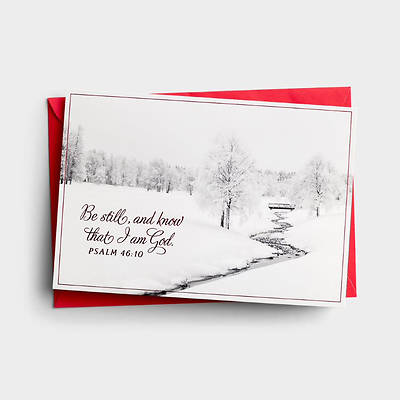 Picture of Be Still And Know Christmas Cards
