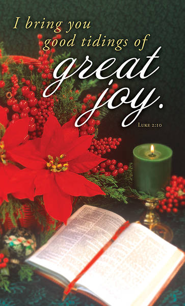 Picture of Great Joy Christmas Announcement Folder