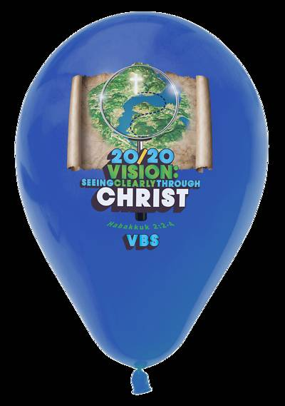 Picture of Vacation Bible School (VBS) 2020 20/20 Vision: Balloons Pkg of 12
