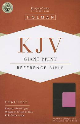 Giant Print Reference Bible-KJV-Magnetic Flap