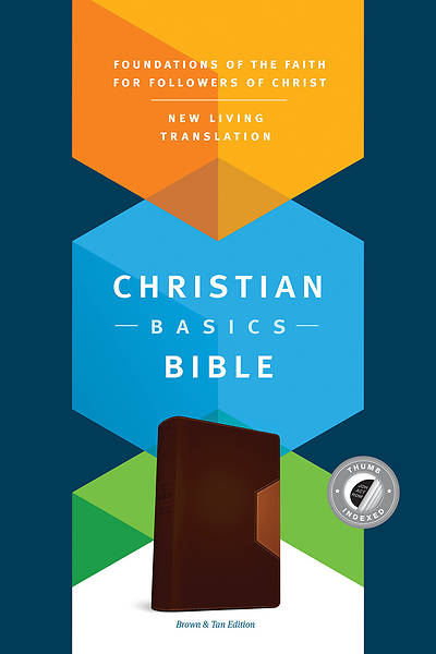 Picture of The Christian Basics Bible NLT, Tutone