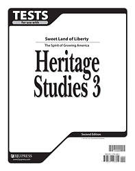 Heritage Studies Tests Grd 3 2nd Edition