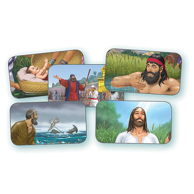 Vacation Bible School (VBS) 2018 Splash Canyon God's Promise Collectibles - Set of 5