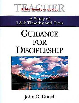 Guidance for Discipleship Teacher