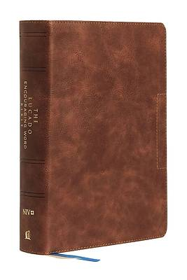 Picture of NIV Lucado Encouraging Word Bible, Brown, Leathersoft, Comfort Print