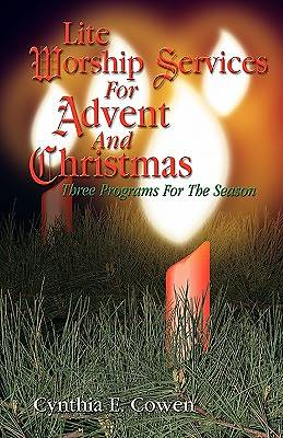 Lite Worship Services for Advent and Christmas