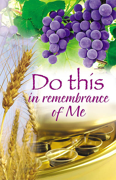 Communion Bulletin, Regular (Package of 100)