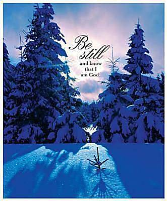 Winter/Be Still Bulletin 2011, Large (Package of 50)