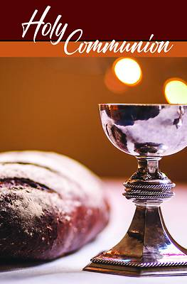Picture of Holy Communion Bulletin (Pkg 100) Communion