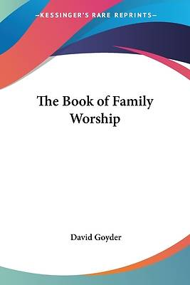 Picture of The Book of Family Worship