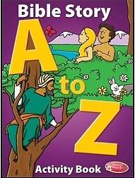 Bible Story A to Z Coloring Book