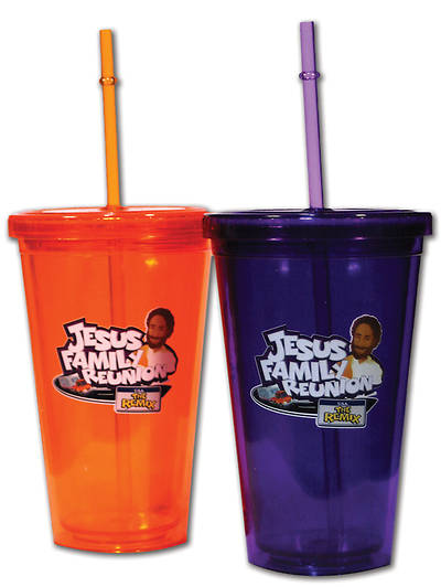 UMI VBS 2013 Jesus Family Reunion: The Remix Tumbler Orange