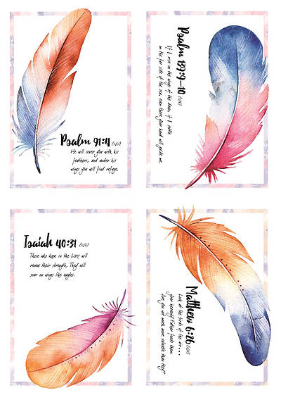 Picture of Under His Wings All Occasion Boxed Cards