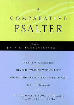 A Comparative Psalter