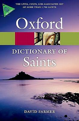Picture of The Oxford Dictionary of Saints, Fifth Edition Revised