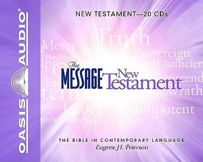 Picture of The Message: The New Testament CD