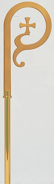 Picture of Koleys K-62 Gold Bishops Crozier