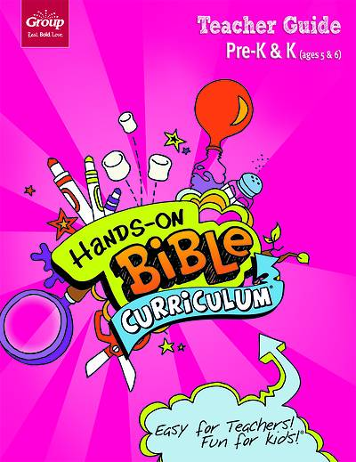Picture of Hands-On Bible Curriculum Pre-K-K Teacher Guide Spring 2020