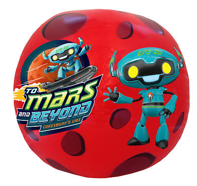 Picture of Vacation Bible School (VBS) To Mars and Beyond Inflatable Logo Ball (Pkg of 2)
